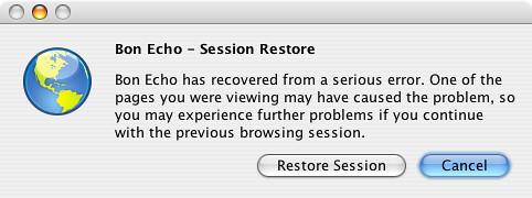 Session Restore - MozillaWiki