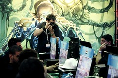 Scales Shoots the Magic: The Gathering Tournament