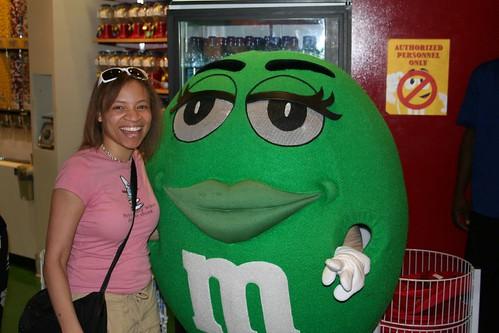 Me & An M&M
