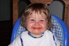 cheesy smile