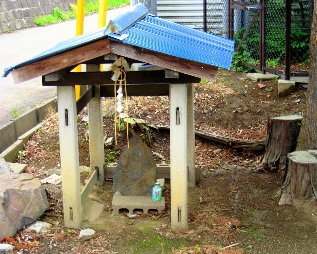 Little shrine in Tsukuba, Take 2