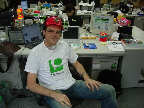 technorati programmer at work