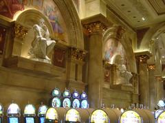Caesar's Palace - Casino Statues