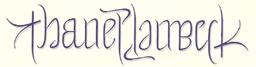 thaneplambeck-ambigram