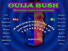 BUSH Ouija Board Spanish
