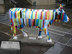 No 56 Cosmpolitan Cow at Edinburgh Cow Parade 2006