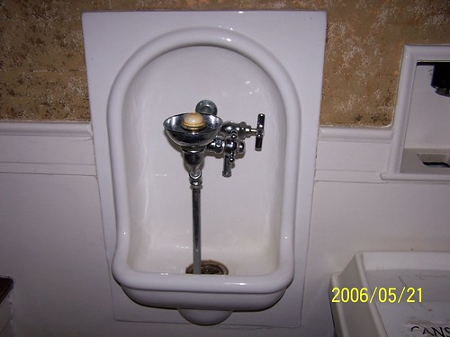 Old style drinking fountain