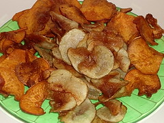 Sweet & Russet Potato Chips