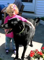 Molly, the really big dog.JPG