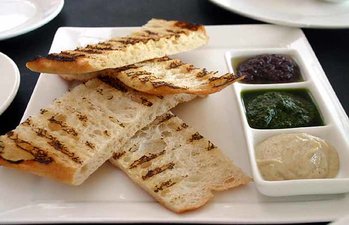 Turkish Bread and Dips