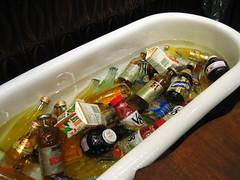 tub o drinks