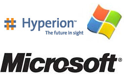 Microsoft e Hyperion