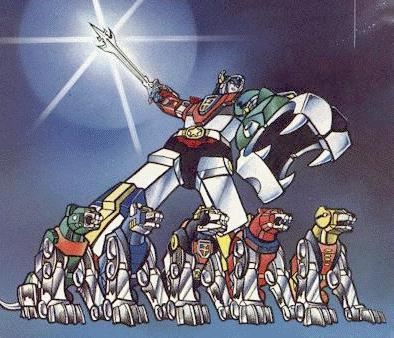 Voltron and Lions