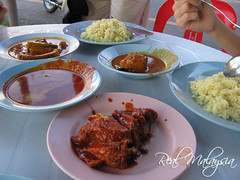 K Nasi Lemak Dishes