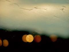 Rain on Highway 401