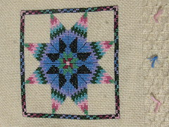 close up of afghan