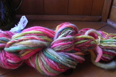 handspun (but not by me!)