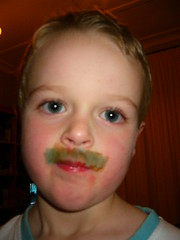 Finn and the 'tache