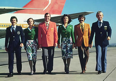 Qantas Uniforms, 1974-1985