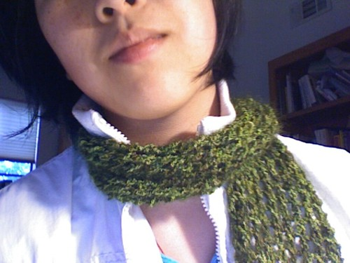 Handmaiden Yarn Scarf kit