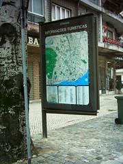 Mapa de 1985, na Av. Roma.