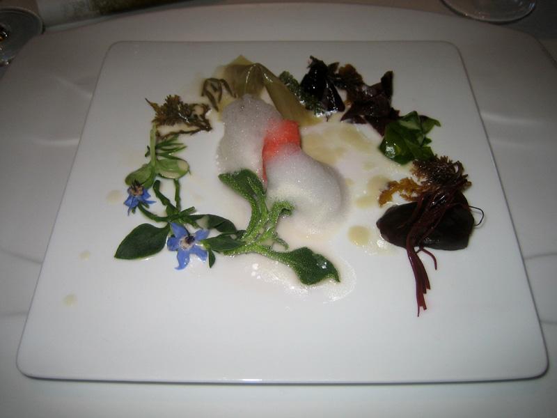 El Bulli - Seafood Salad