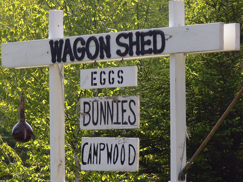 Honey, can you run down to the Wagon Shed?