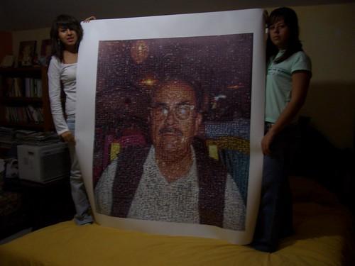 Regalo Abuelo 84 años: Mosaico