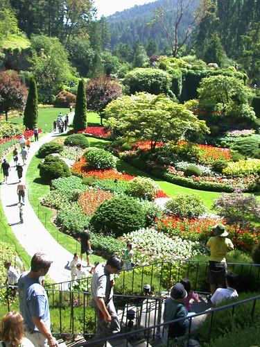 Sunken Garden@Butchart Gardens