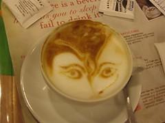 durga in my coffee