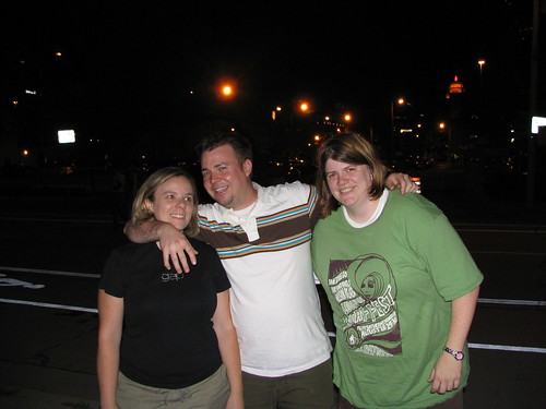 Brooke, Rick, and I
