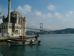 Ortaköy den Ortaköy Camisi ve Boğaz