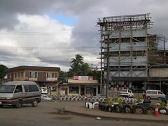 A roundabout in Nausori