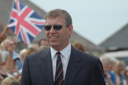 Prince Andrew visits Alderney