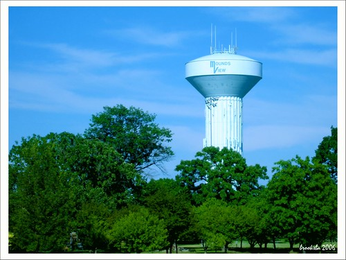 Mounds View Watertower