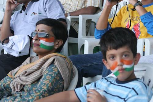 IMG_2291 India Pak match, with Aniruddh
