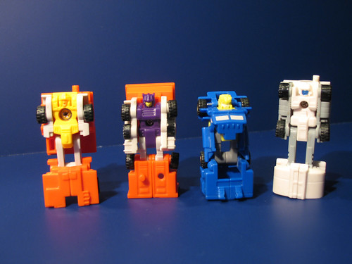 G1 Micromaster Combiners Sledge & Hammer and Oiler & Slide
