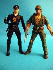 Blackhawk and Sgt. Rock!