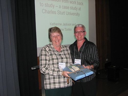 Helen Reynolds and Judith Peacock