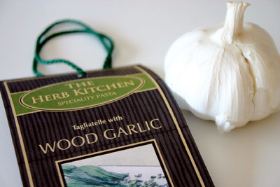 Wood Garlic Tagliatelle