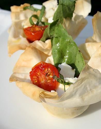 Summer Tomato Tart - 1