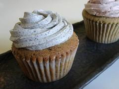 Black Sesame Cupcake