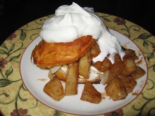 Pears & Cream Shortcakes