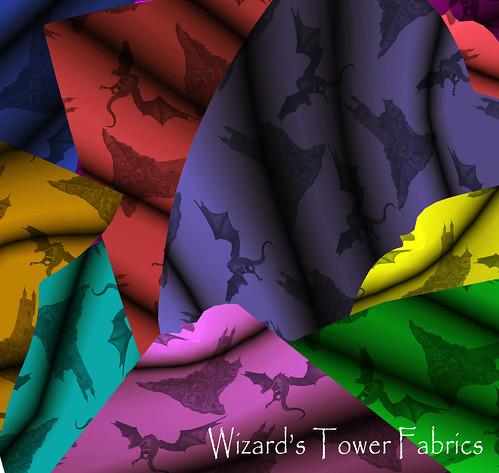 Wizard's Tower Fabrics