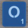 Scrabble Letter O