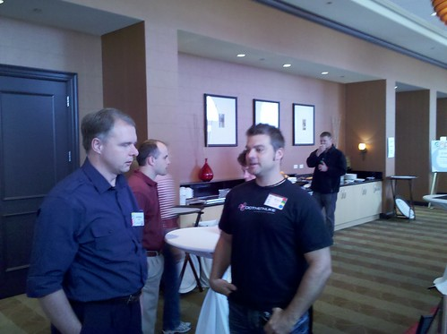 check out @sbwalker from #dotnetnuke and @andreweddie from #joomla at #cmsx