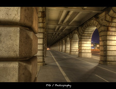 Pont de Bercy to night photo by J P | Photography
