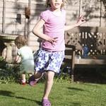 Running around the garden<br/>09 Apr 2011