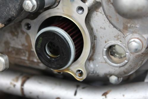 WR250R Oil Change