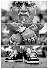 Triptychs of Strangers #14: The Grieving Sailor - Schanze, Hamburg photo by adde adesokan